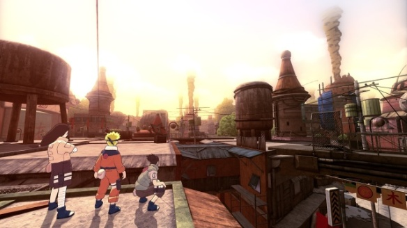 At the start of the game, you will need to help repair Konoha to its original beauty.