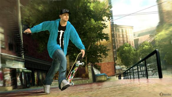 Rob Dyrdek and a host of Pro's feature in Skate 2