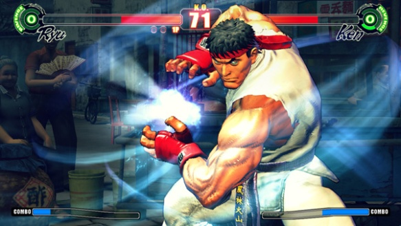 Street Fighter 4 carries on the legacy of the classic arcade franchise