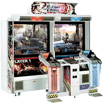 Time Crisis still holds huge appeal in arcades