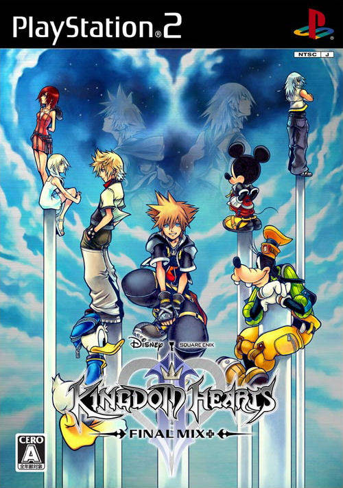 Kingdom Hearts 2: Final Mix, only available in Japan