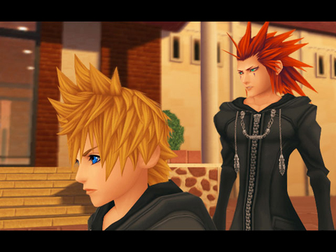 Roxas and Axel, fan favourites from Organisation XIII