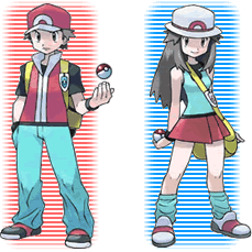 The redesigned trainers from Red and Blue