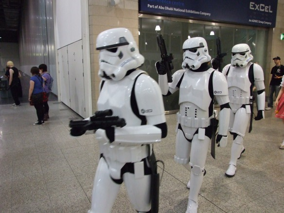 Stormtroopers are very, very cool