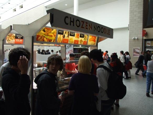 Chozen noodles, simply brilliant fast food