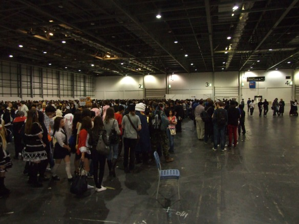 The entrance line was stupidly long