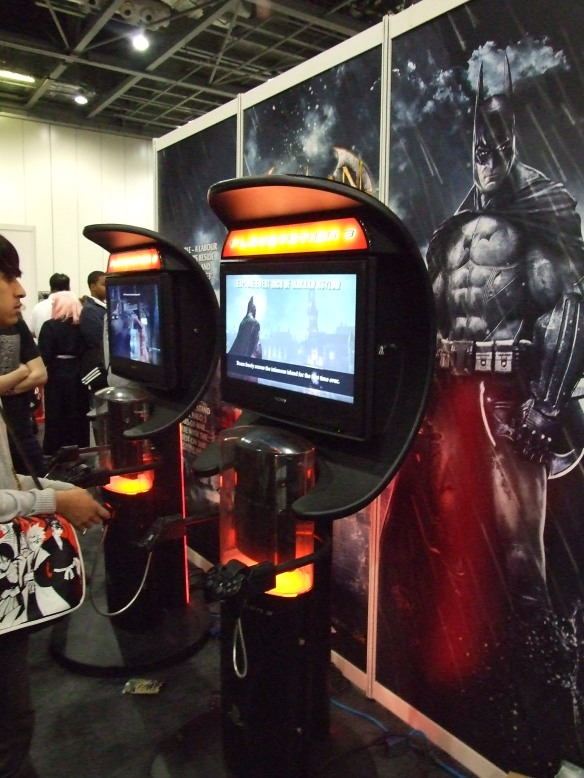 Batman: Arkham Asylum demo was available!