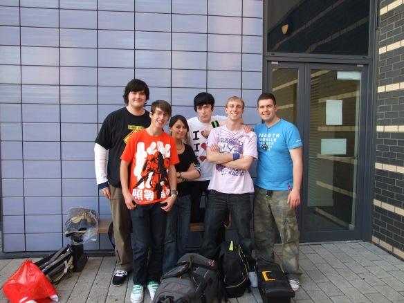 Our Expo crew; i'm in the orange