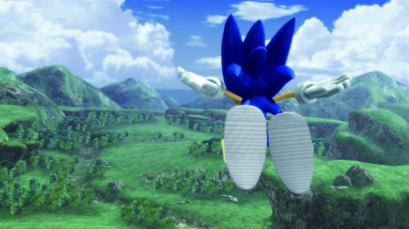 It was obvious how rushed Sonic 06 was for release