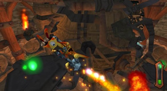 Meet Daxter, not your every day protagonist!