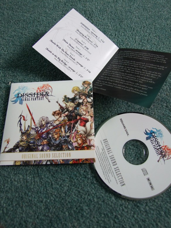 Dissidia Final Fantasy: Original Sound Selection